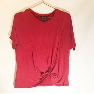 Miss Chievous front knot at hem top size small